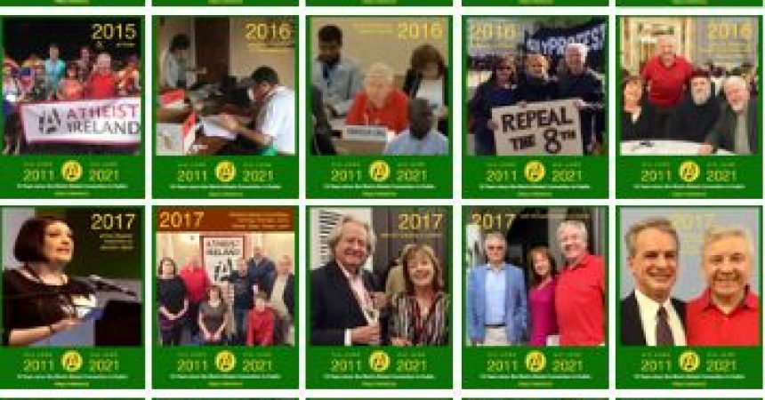 Secular Sunday #493 – Ten Years since the World Atheist Convention in Dublin
